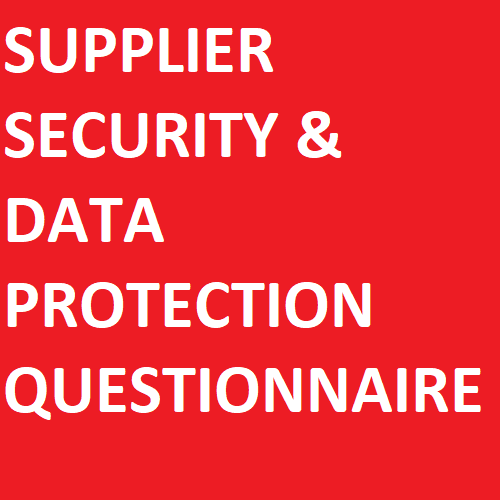 Supplier Security & Data Protection Questionnaire icon
